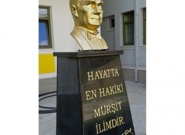 Pirinç Atatürk Büstü